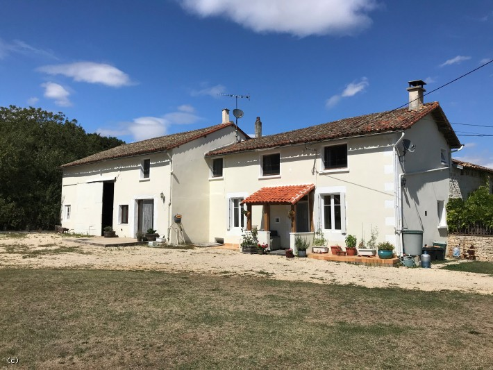 3 Bedroom Renovated Farmhouse With Fantastic Outbuildings On Just Under 2 Acres