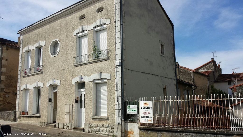 Townhouse In Ruffec - Ideal as a buy to let investment