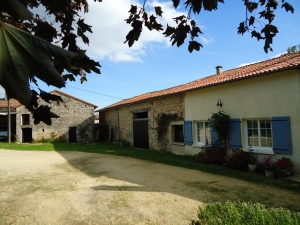 Stone house with amazing views over the Charente valley