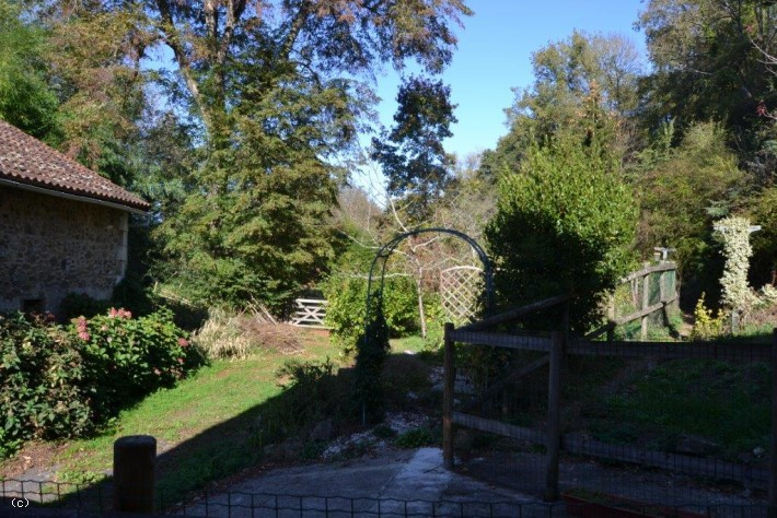 Riverside Mill House With Gîte & Over 2 Acres In An Idyllic Setting