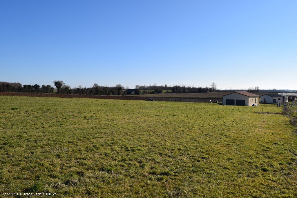 Buliding Plot With All Services Connected On 1450m² Offering Country Views Close To Civray
