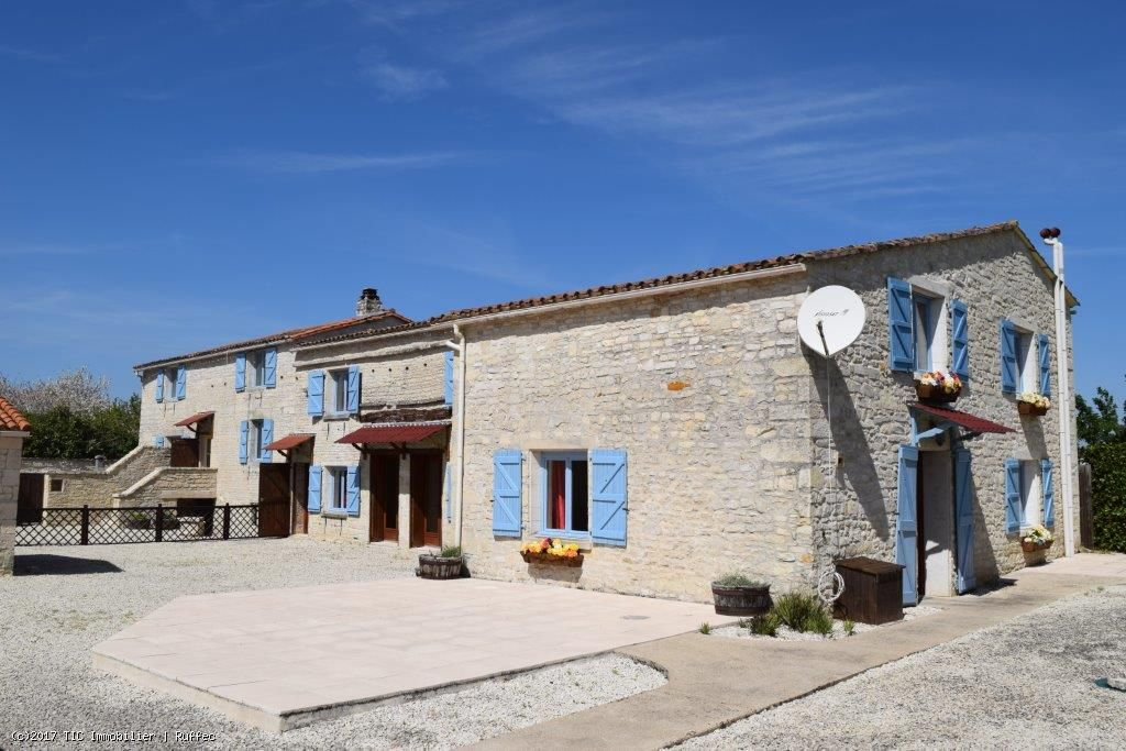 Business Opportunity Main house With 3 Gites And Swimming Pool Close To Mansle