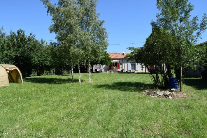 2 Village Houses Close To Ruffec Rented Out at  500€ and 380€ Per Month